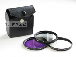 58мм KIT 58mm 3 FilterUV, FLD, CPL