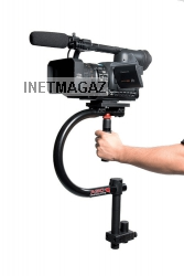 Handyman 100 camera stabilizer * 2 quick-release plates (for use with tripod) * wedge plate * base plate