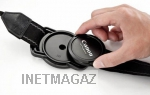 Держатель крышки объектива на ремень GIZINNO CapClaper Lens Cap Keeper Holder для DSLR Camera Сanon Nikon Sony