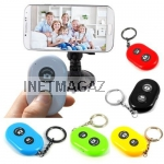 Селфи Bluetooth Пульт ДУ ashutb bluetooth remote shutter для SELFIE на  smartphone IOS Android iPhone ipad HTC Samsung Sony LG lenovo