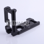 Quick Release L Plate Vertical Bracket For Canon 5D Mark II 5Dm2 Arca