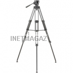 Libec TH-650HD Head/Tripod with Carrying Case штатив