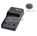 SJ400C Micro USB зарядка для SJ4000, SJ5000, SJ6000, SJM10  Dominant S 06 FHD; SJCAM SJ4000 wi-fi, SJ5000 X1 S009