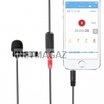 Saramonic LMX1+ Lavalier смартфон микрофон iPhone and Android Microphone